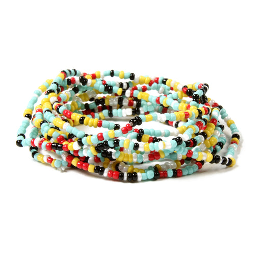 Multi Beaded Stretch Bracelet