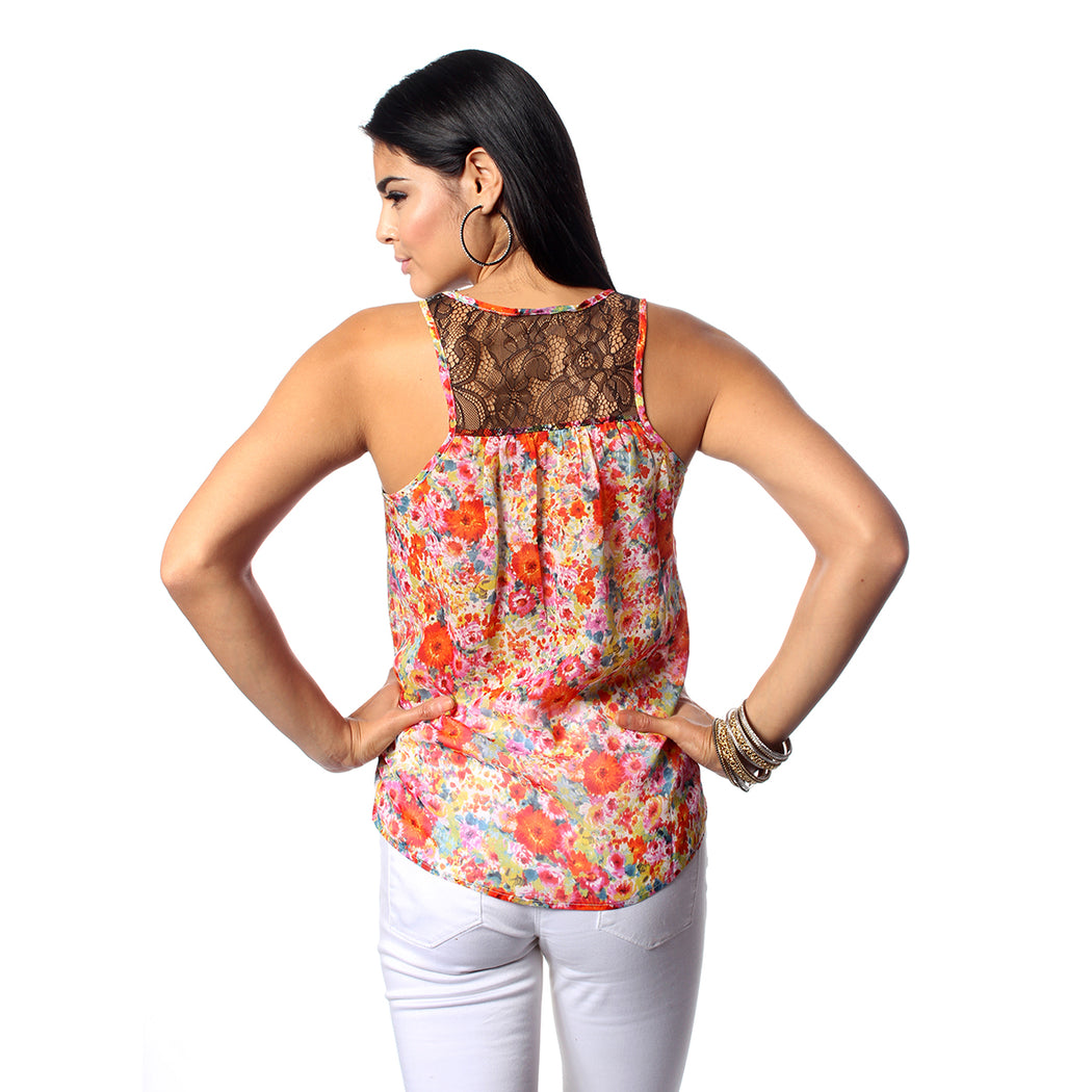 Multi Flower Garden Tops