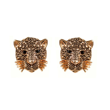 Queen of the Jungle Stud Earring