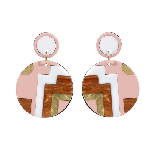 Mosaic Resin Earring