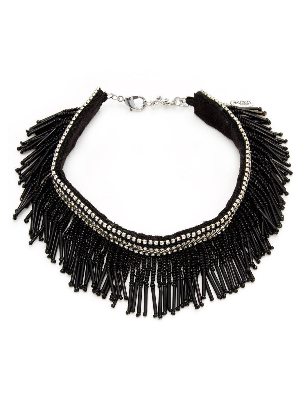 Black/Clear Necklace