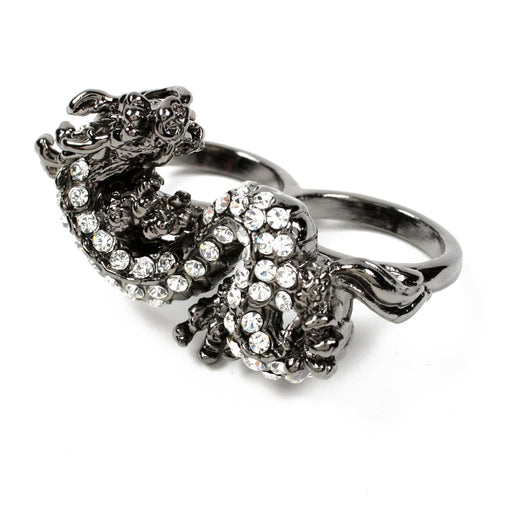 Gunmetal Ring