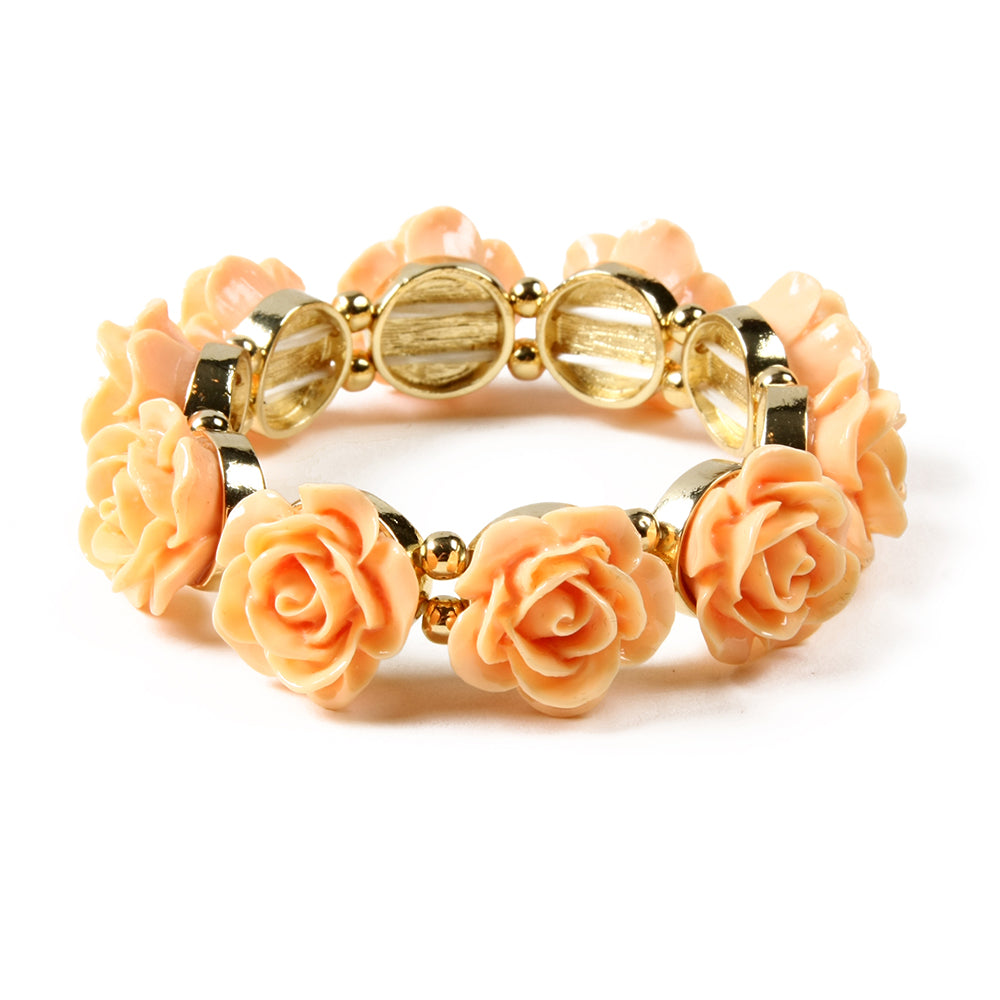 Rose Stretch Bracelet