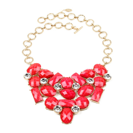 Fuschia Necklace