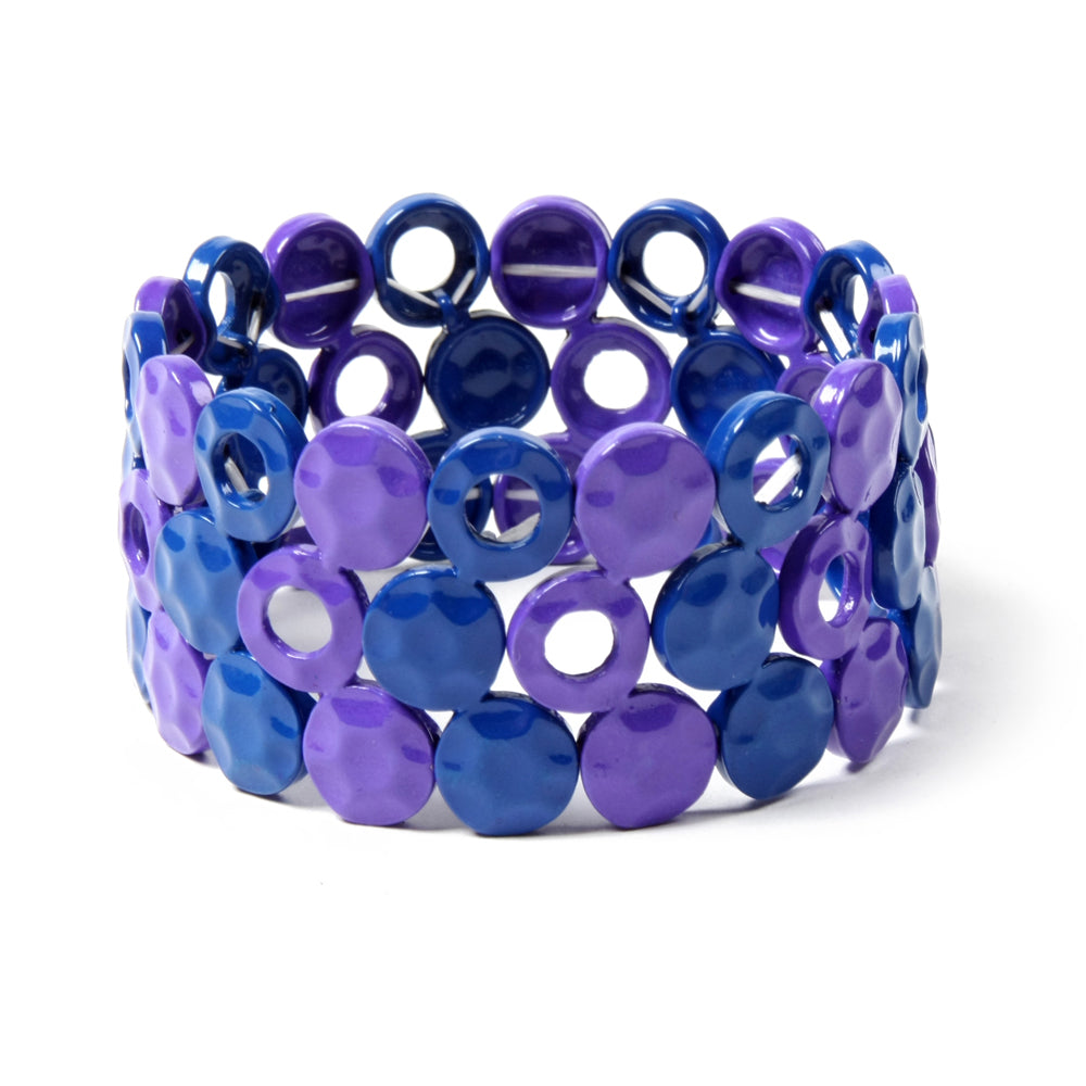 Blue/Purple Bracelet
