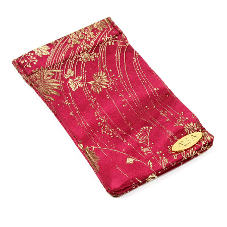 Ruby Silk Eyewear Case
