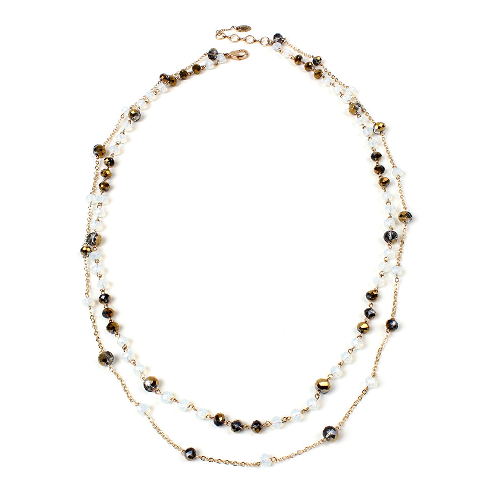 Gold/Ivory Necklace