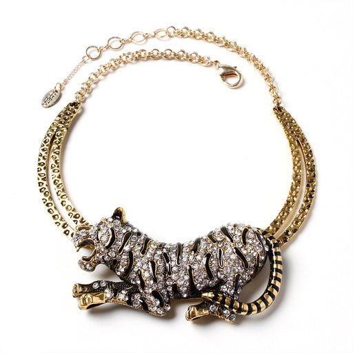 Siberian Tiger Necklace