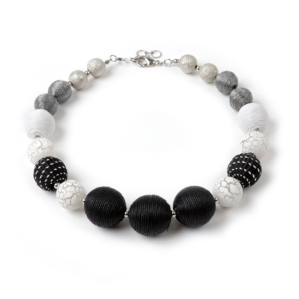 Black/White Necklace