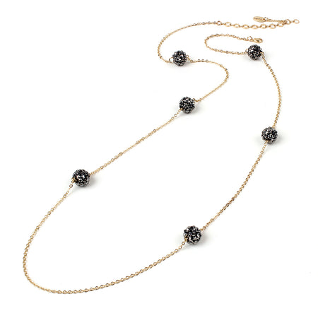 Gold/Gunmetal Necklace