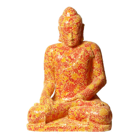 Red/Yellow Full Size Buddha