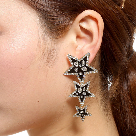 Star Fall Drop Earring