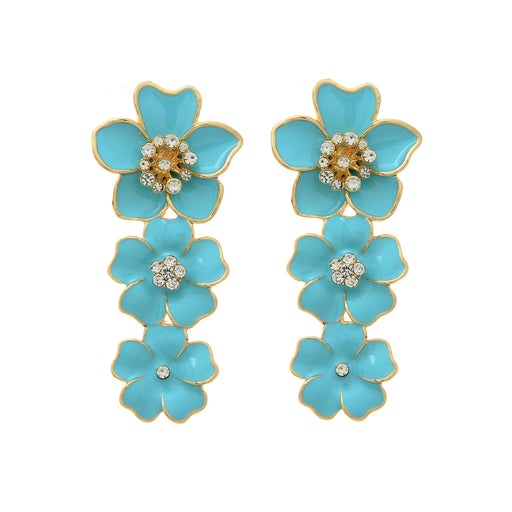 Briony Floral Drop Earring