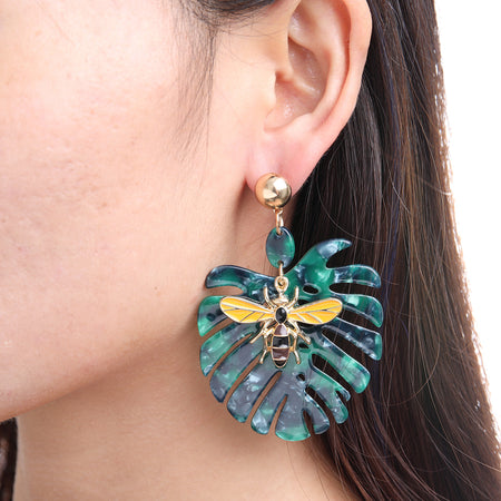 Palm Critter Earring