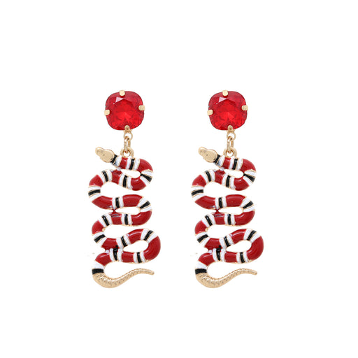 Kaida Snake Drop Earring