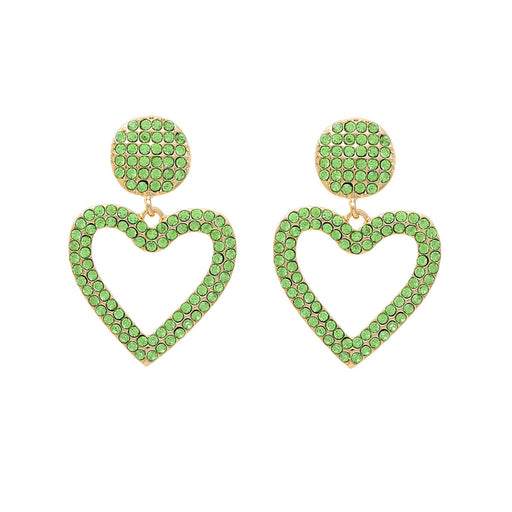 Bethany Heart Drop Earring