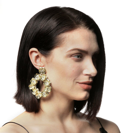 Floral Wreath Earring
