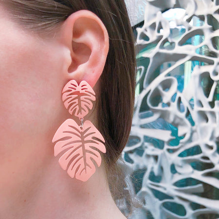Palm Leaf Earring