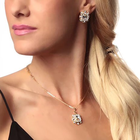 Marjorie Crystal 2-Pc Jewelry Set — $80 VALUE