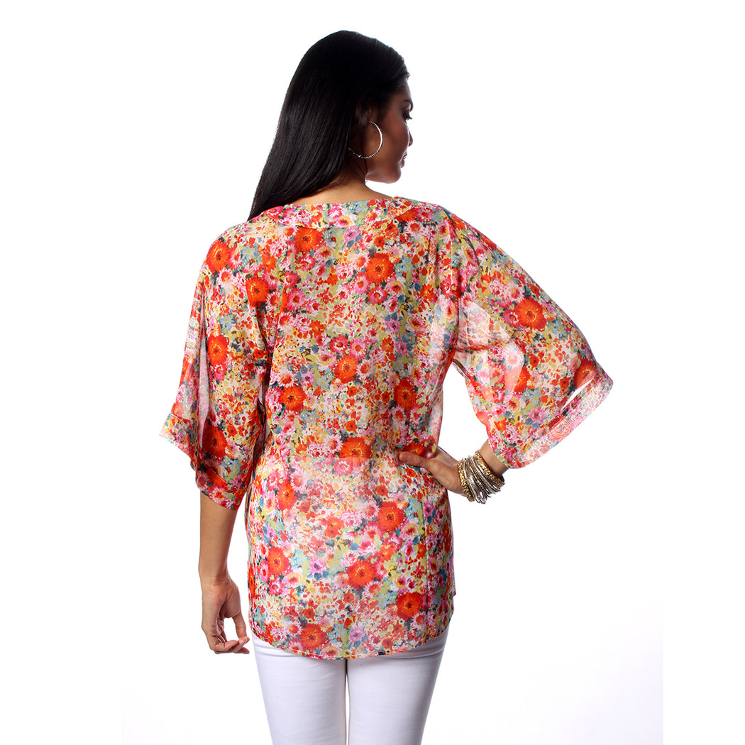Multi Flower Garden Top