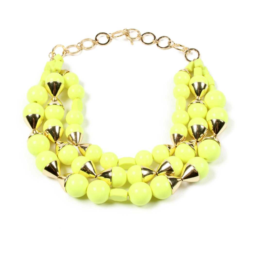 Yellow Necklace