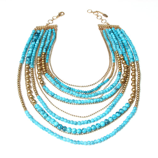 Noho Multi Strand Necklace
