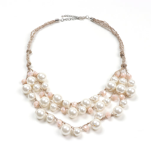 Carly Pearl Necklace