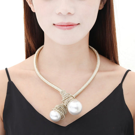 Iliana Pearl Necklace