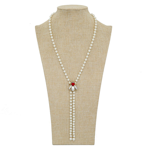 Critter Pearl Necklace