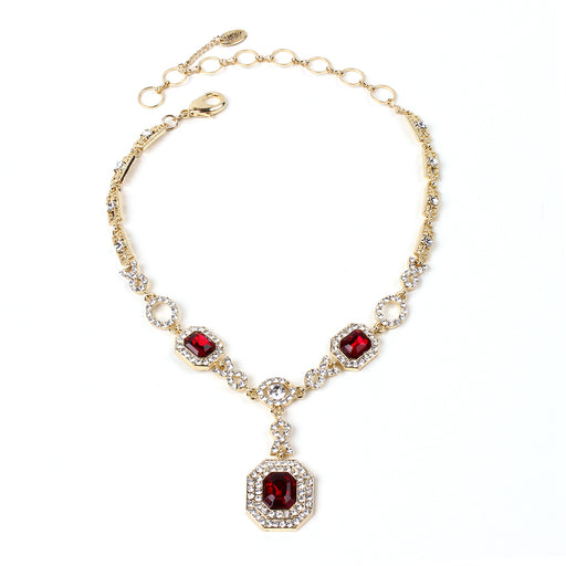 Ruby/Gold Necklace