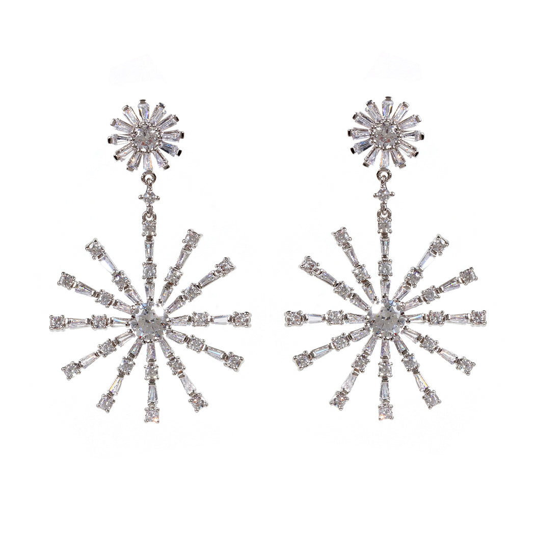 Winter CZ Earring