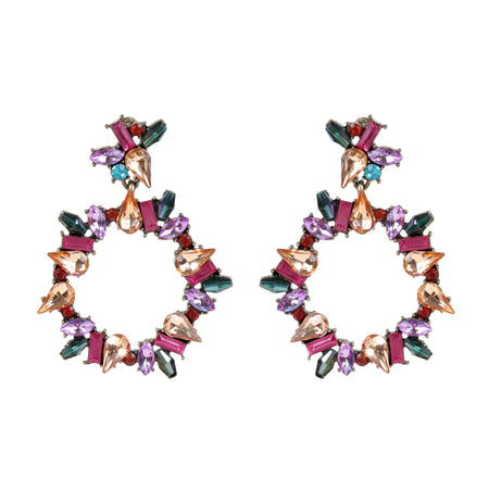 Adelaide Wreath Drop Earring