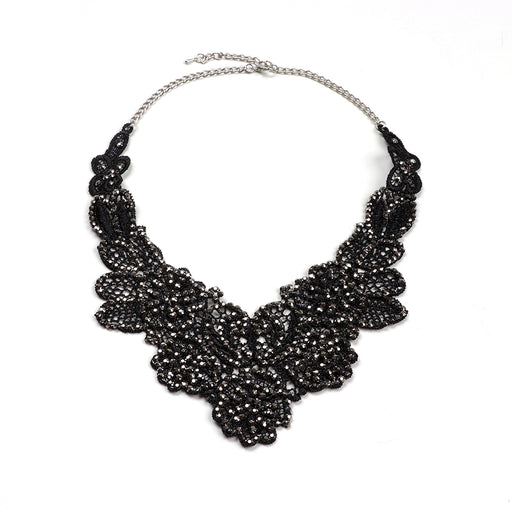 Daphne Lace Bib Necklace