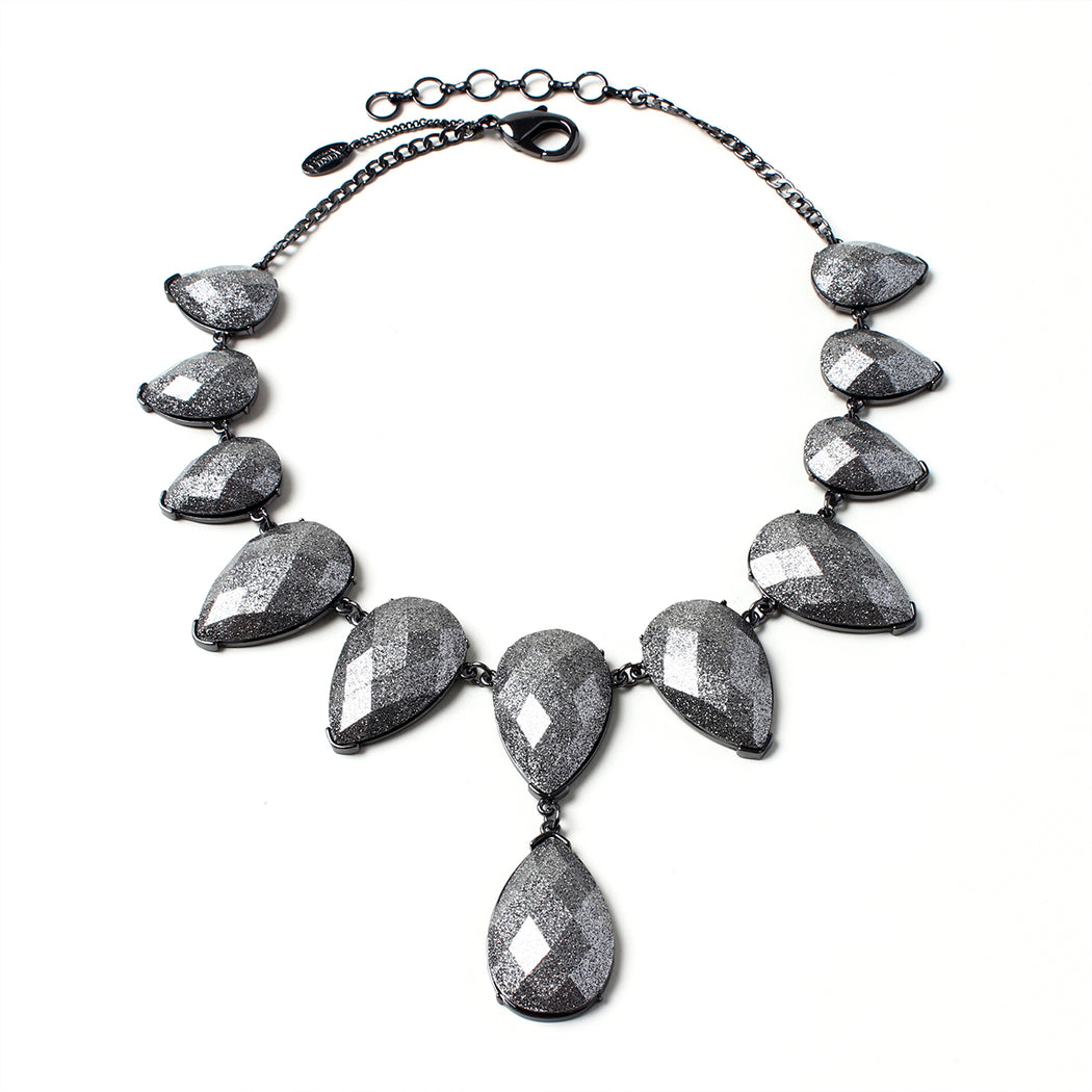 Gunmetal Necklace