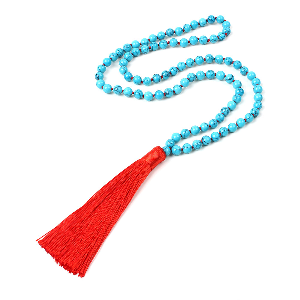 Turquoise/Red Necklace