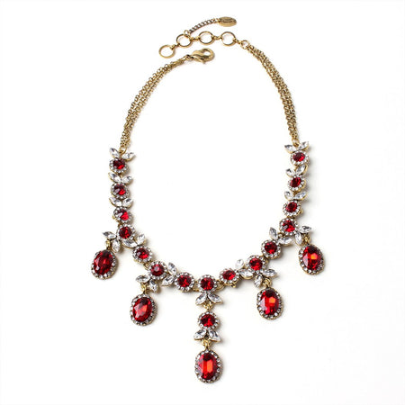 Sicilia Ruby Tone 2-Pc Jewelry Set — $160 VALUE