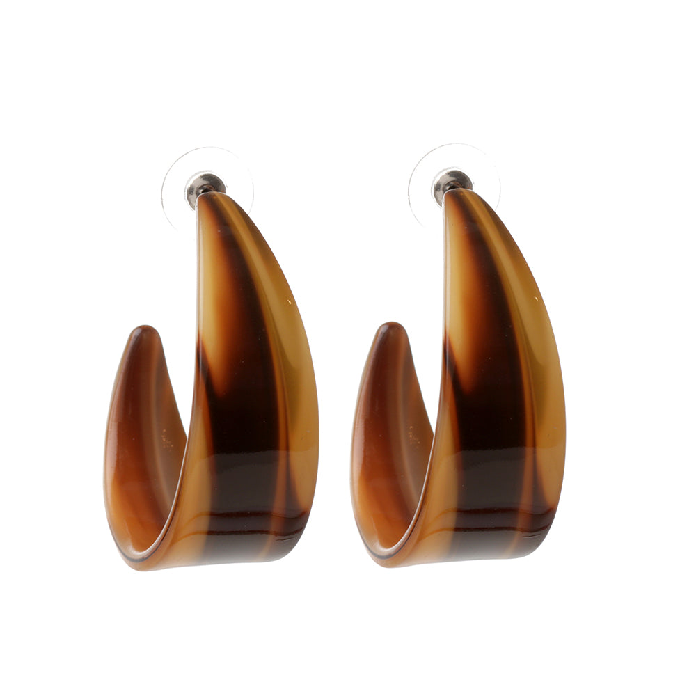 Brown Earring