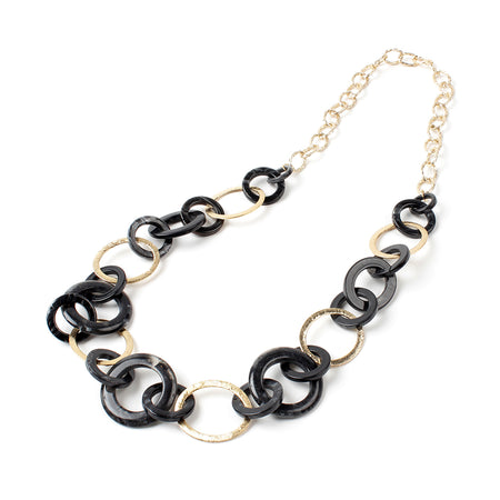 Black/Gold Necklace