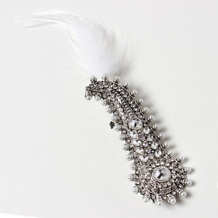 Silver/Clear Hair Accessories