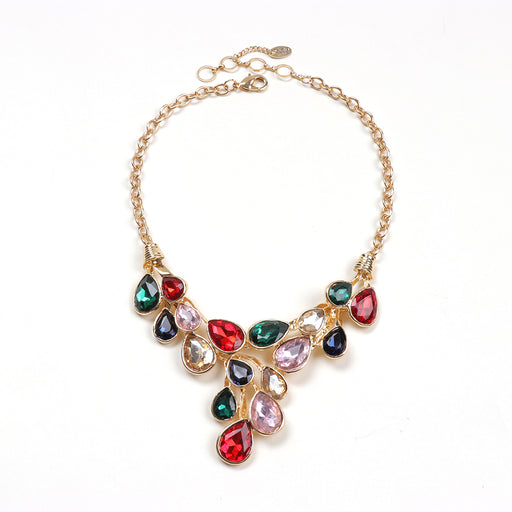 Cascading Teardrop Necklace