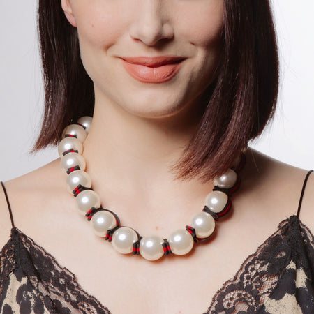 Betty Chunky Pearl Necklace