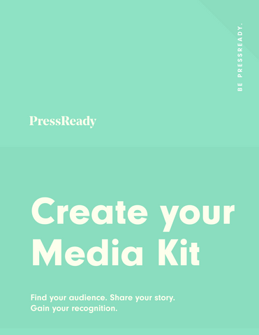 Create your Media Kit