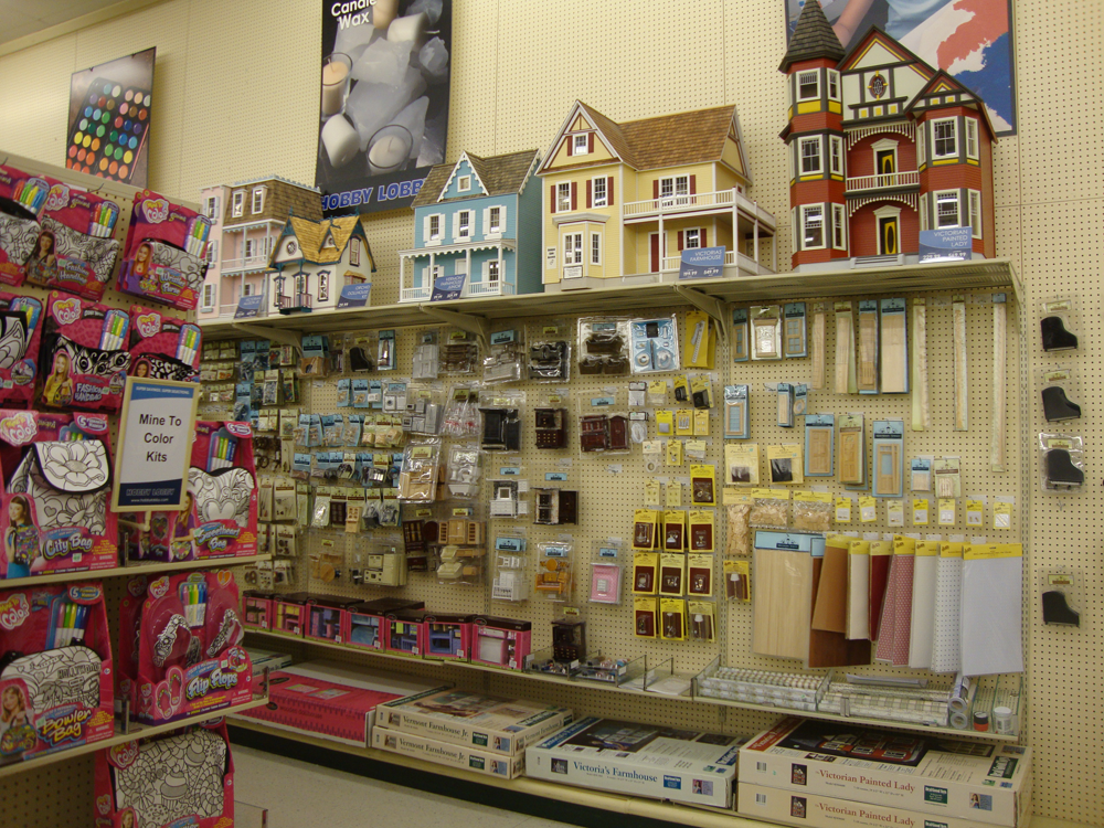 Attractive Hobby Lobby Has An Incredible Selection Of Dollhouse Interiors, Plus  Anything Else You Would Need To Create Your Own. We Look Forward To When  Georgia Wants ...