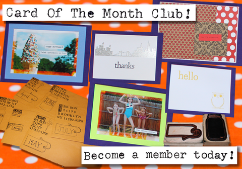Card of The Month Club