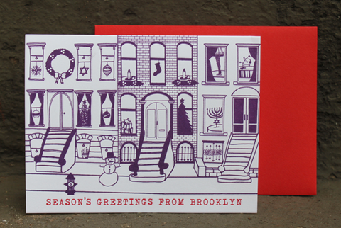 Season's Greetings From Brooklyn - Single Card