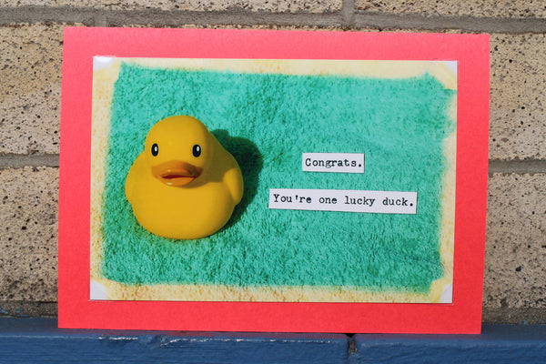 Congrats!  You're one lucky duck.