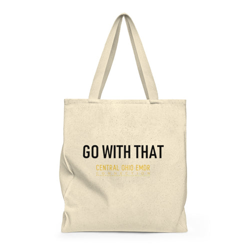 1 GO WITH THAT Shoulder Tote Bag - Roomy