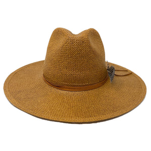 DUME STRAW FEDORA HONEY