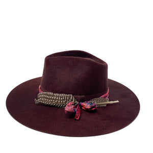 VERONA FEDORA CURRENT EMBELLISHED