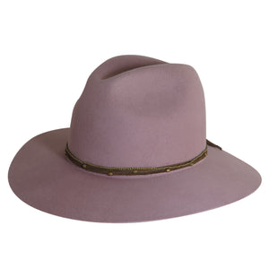 Brooklyn Fedora in Blush by Lovely Bird